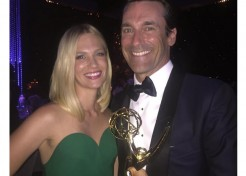 Behind-the-Scenes with Celebrity Moms at the 2015 Emmy Awards