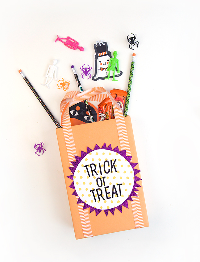 DIY Cereal Box Trick or Treat Bag