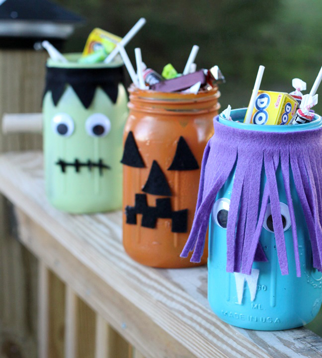 mason jar monsters