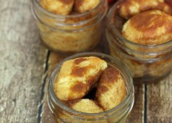 Pumpkin Spice Monkey Bread in a Jar