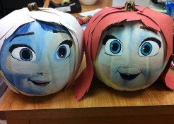 Disney's FROZEN-Inspired Halloween Pumpkin Ideas