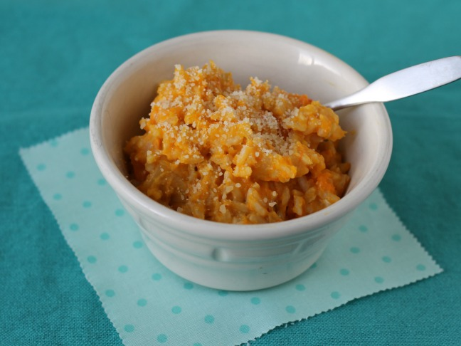 Easy Squash Risotto kids love