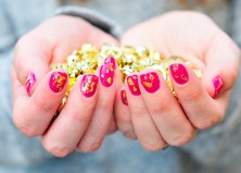 Gold Leaf Manicure Tutorial (Plus 20 More Insanely Easy Nail Art Tutorials)