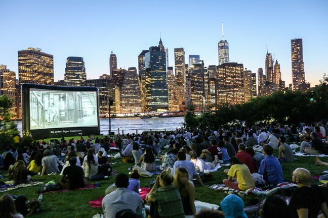 New York outdoor movies