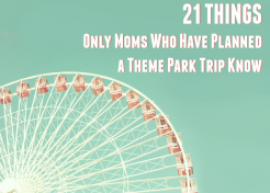 21 Things Only Moms Who Have Planned a Theme Park Trip Know