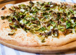 Meatless Monday: Brussels Sprout Parmesan Flatbread Recipe