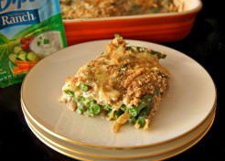 Ranch Green Bean & Caramelized Onion Casserole Recipe