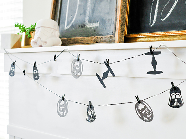 DIY Star Wars Paper Garland