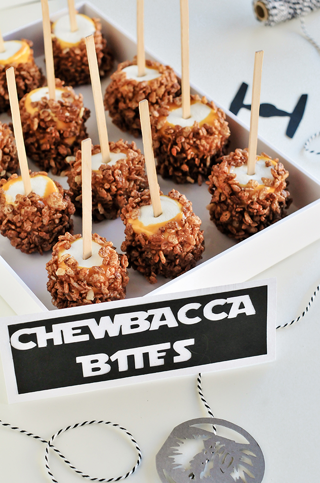 Star Wars Snacks - Chewbacca Bites