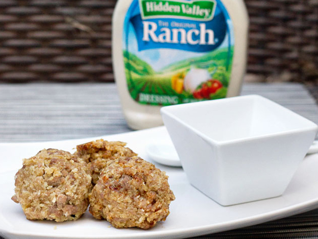 Ranch Lamb Meatballs