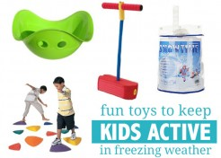 6 Uber-Fun Ways to Keep Kids Active When It's Freezing Outside