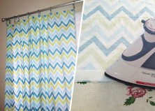 PHOTOS: DIY No Sew Curtains – Step By Step