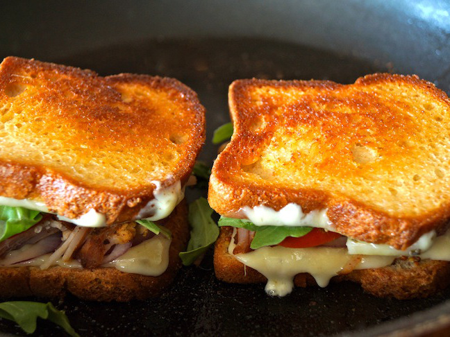 toasted bread, grilled cheese sandwich