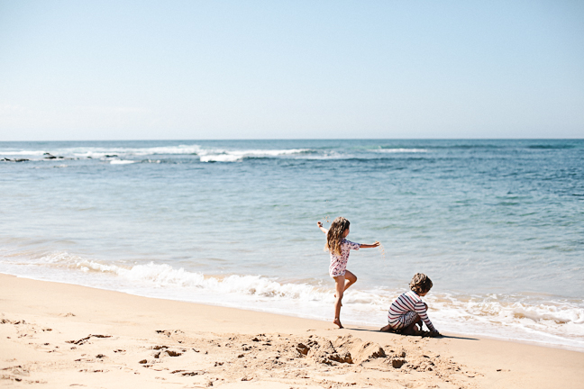 How to take photos of your kids at the beach