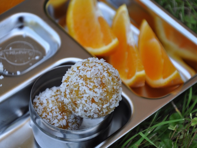 3 Power-packed nut-free bliss balls - APRICOT BALLS