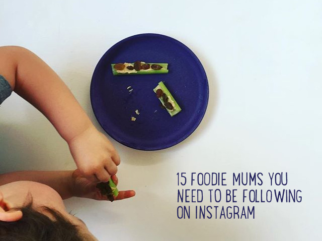 Foodie mums you need to be following on instagram