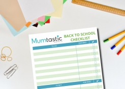 Simplify Back to School: Printable To Do / To Buy Back to School Checklist