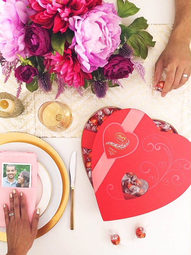 For a sweet date night | 4 Ways to style LINDOR Truffles for Valentine's Gifts