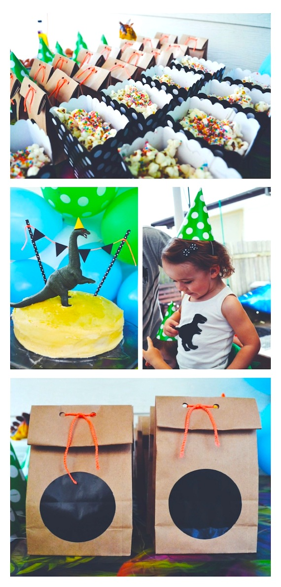 How to throw a (last minute) dinosaur party