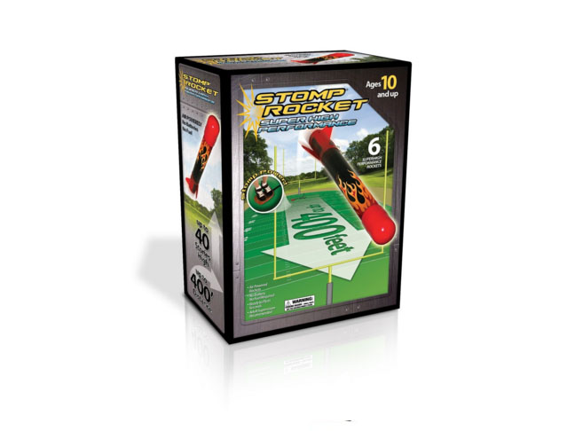 The Original Stomp Rocket: Super High Performance 6-Rocket Kit