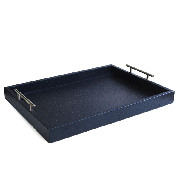 momtastic-8-home-decor-trends-2015-texture-Ostrich-Leather-Tray-with-Handles-overstock