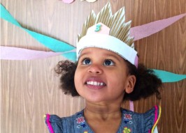 This DIY Starburst Princess Birthday Crown Is Perfect for Your Lil' Royal