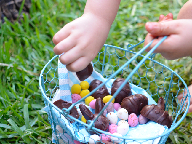 Homemade Chocolate Easter Eggs