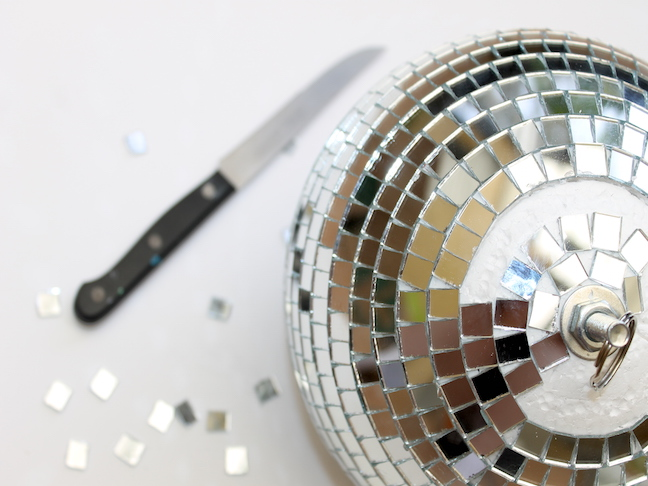 disco ball knife