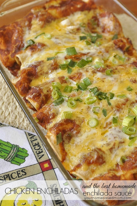 Meal planning 5 easy mexican dinners you can prep on sunday night chicken enchiladas forumfinder