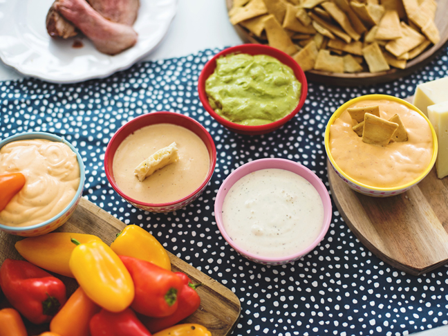 flavored dips for party