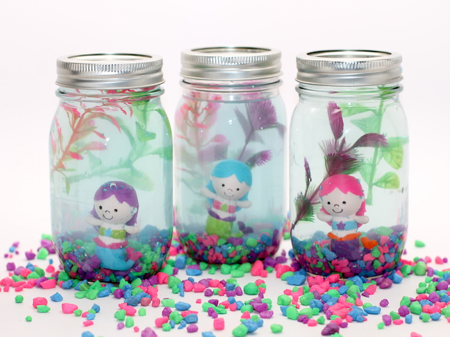 diy mermaid aquarium craft