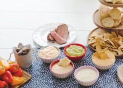 The Ultimate BBQ Dip Bar