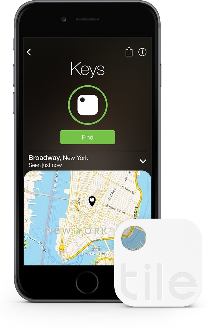 tiles for finding your keys and phone