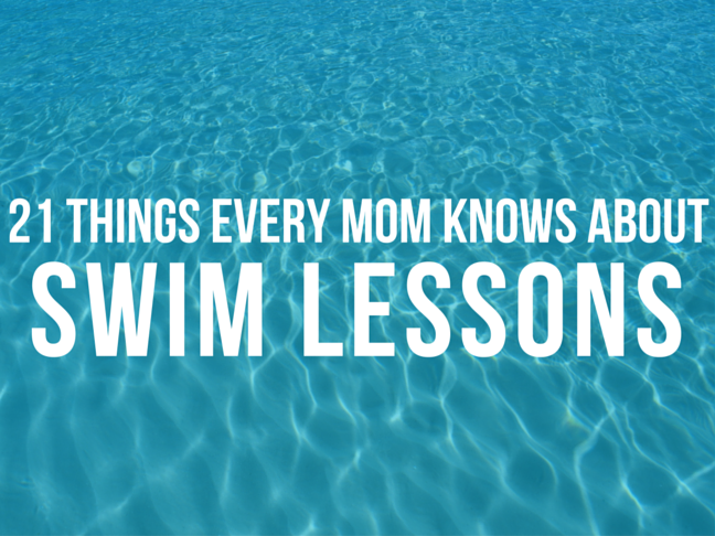 21 Things Every Mum Knows About Swim Lessons on @ItsMomtastic by @letmestart
