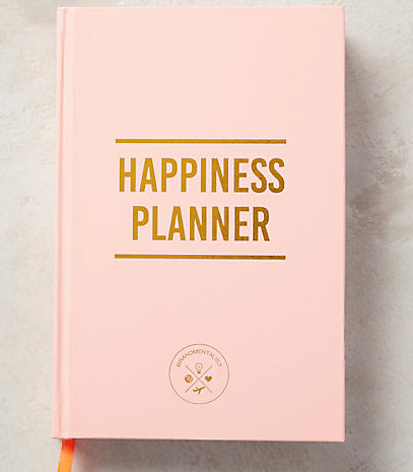 pink bound happiness planner