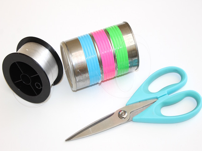 tin can wrapped in duct tape