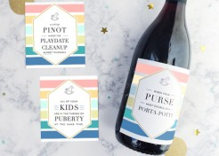 Hilarious Wine Labels for Moms (& They're Printable, Too)