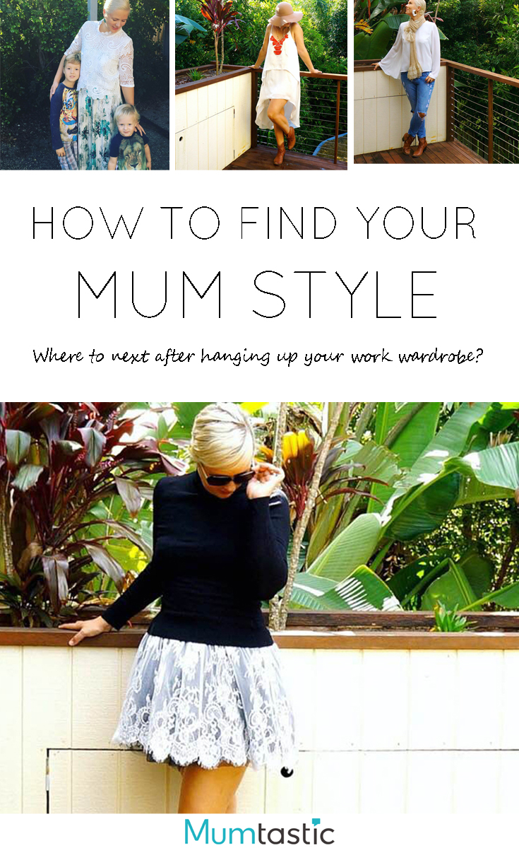 How To Find Your Mum Style After Hanging Up Your Work Wardrobe