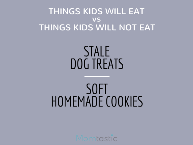 Things Kids Will Eat vs Things Kids Will Not Eat is a funny list for every mom who can relate Parenting humor on @ItsMomtastic by @letmestart