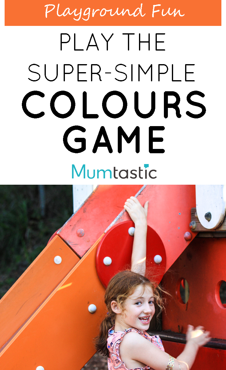 Play the super simple COLOURS GAME