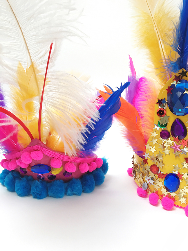 Rio -Inspired Head Dresses