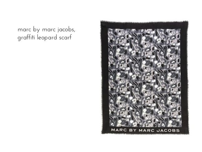 marc by marc jacobs leopard scarf_opt