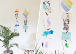 DIY Modern Display for Kids' Art