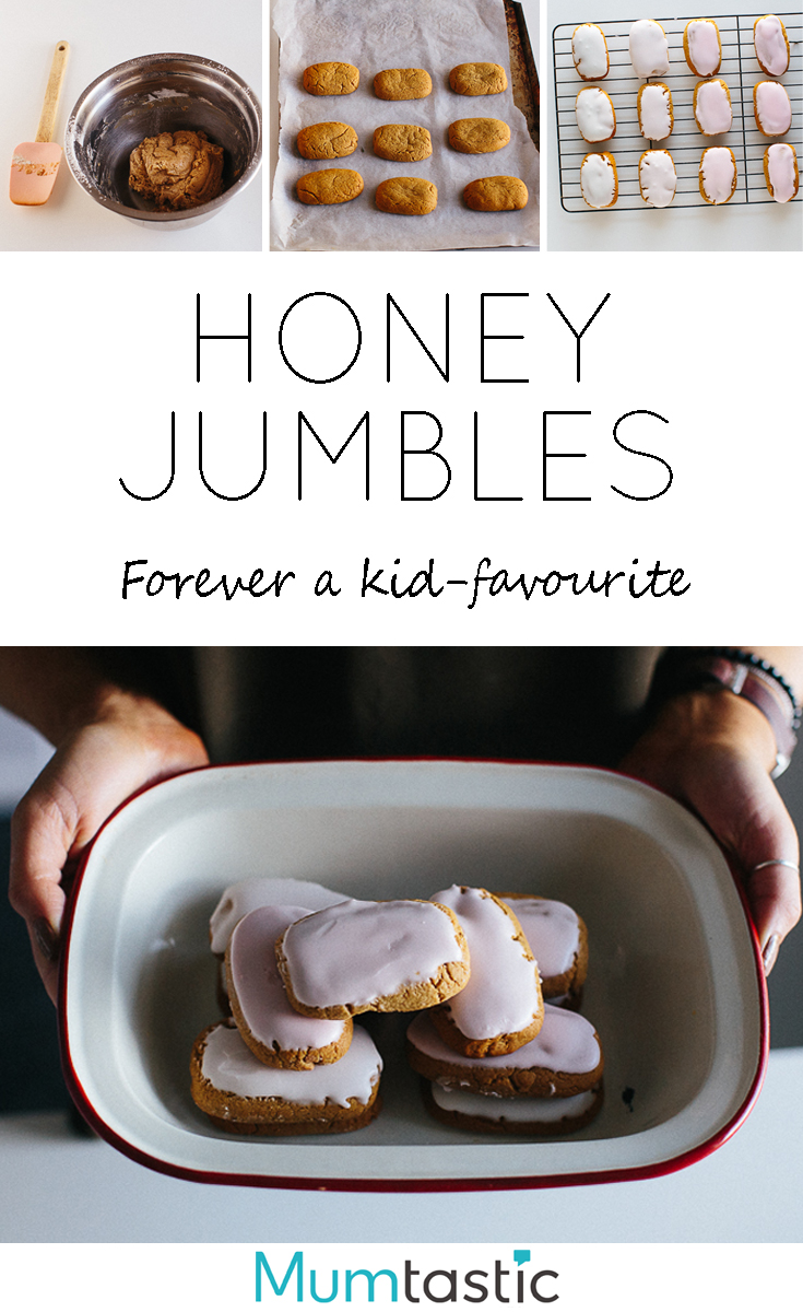 Honey Jumbles Recipe - Forever a Kid-Favourite