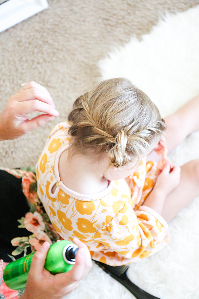 braiding toddler hair