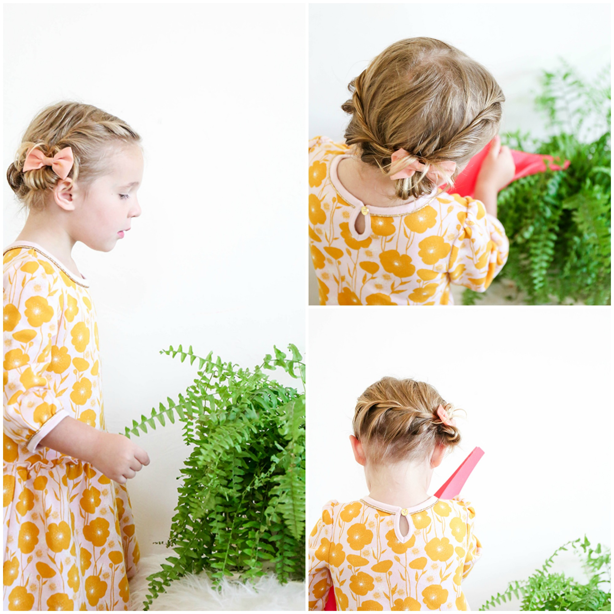 An easy toddler braid hack