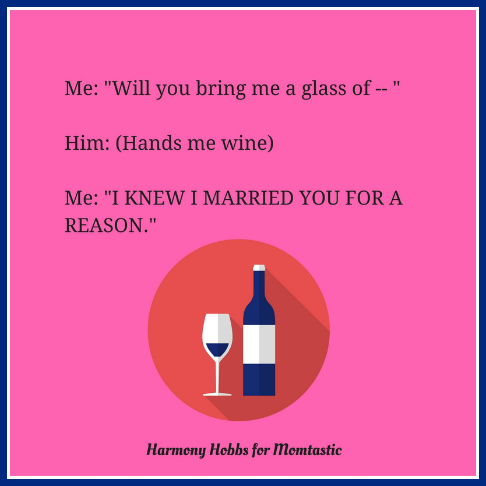 Marriage wine