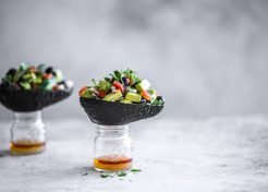 Mexican Avocado and Blueberry Salsa Boats (or the Tale of How My Boy Grew to Love Avocados)