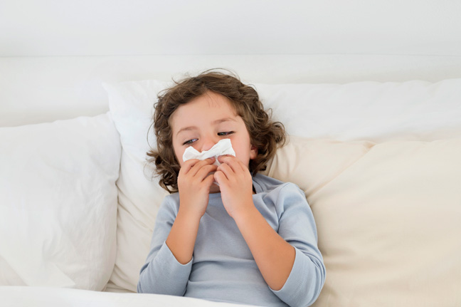 child-tissue-cold-flu