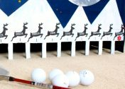 The Cure for Holiday Break Boredom: DIY Indoor Golf Game